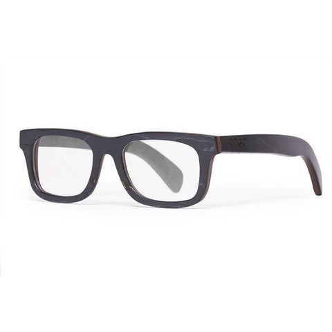 Proof Capitol Black Wood Frame Glasses