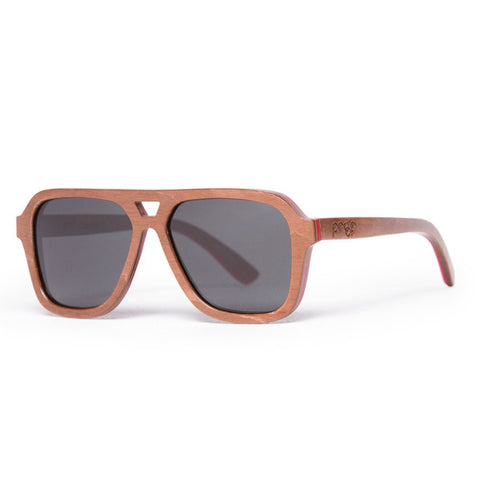 Proof Donner Skate Wood Sunglasses