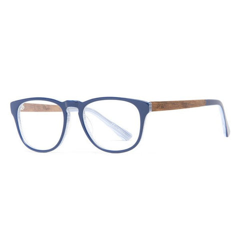 Proof Driggs Blue RX Wood Prescription Glasses