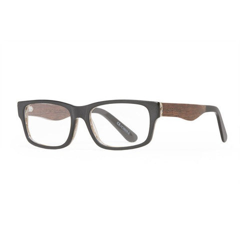 Proof RX Loom Matte Black Wood glasses