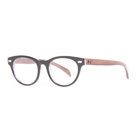 Proof RX Lunar Black wooden glasses