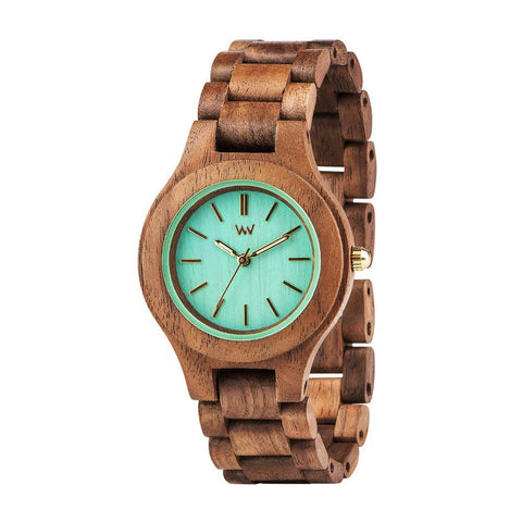 WeWood Antea Nut Mint Watch
