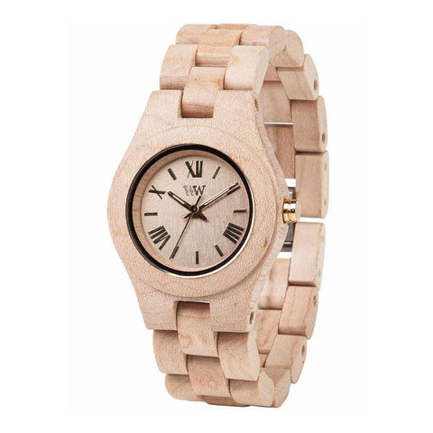 WeWood Criss Beige Wood Watch
