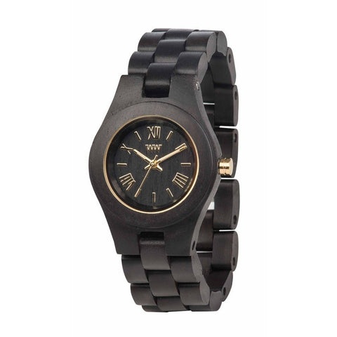 WeWood Criss Black Gold Wood Watch