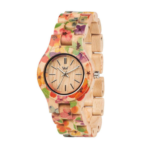 WeWood Criss Flower Watch Angle