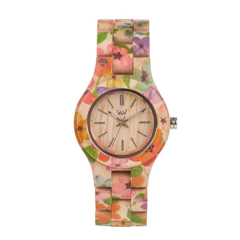 WeWood Criss Flower Watch Front