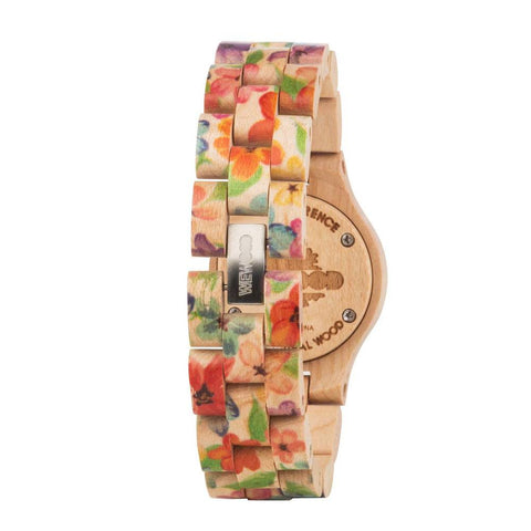WeWood Criss Flower Watch Back