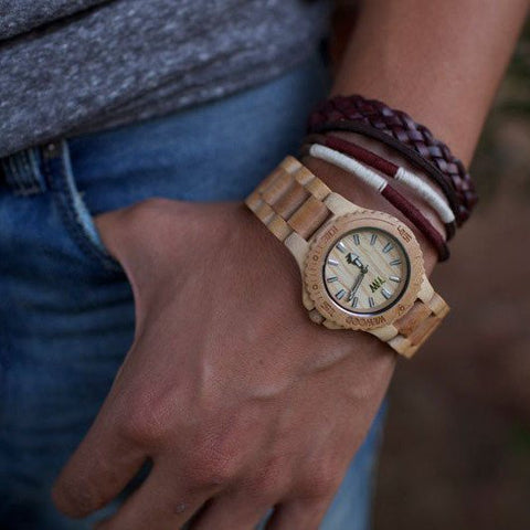 WeWood Date Beige Watch Worn