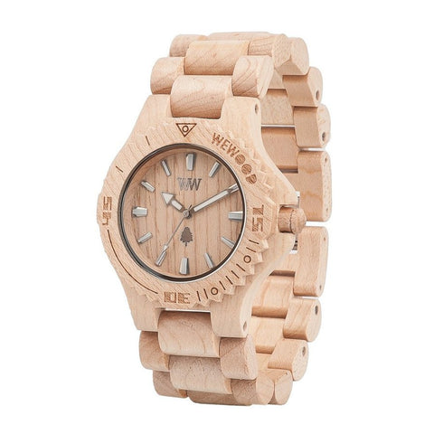 WeWood Date Beige Watch Angle