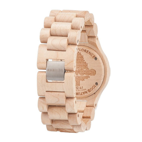 WeWood Date Beige Watch Back