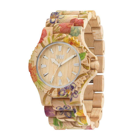WeWood Watch Date Flower