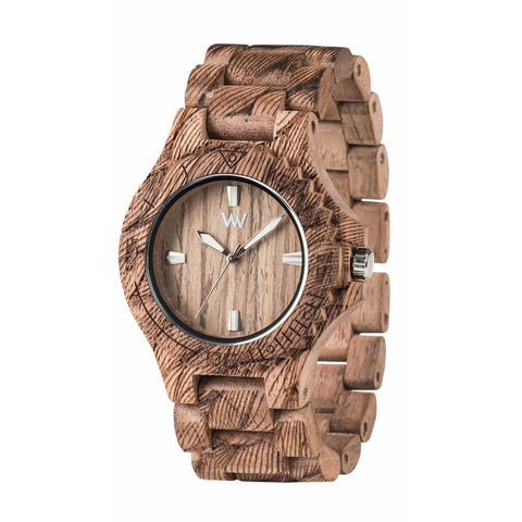 WeWood Date Waves Nut Watch