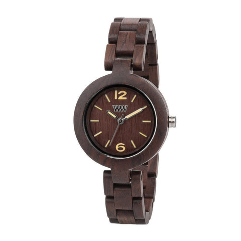 WeWood Mimosa Chocolate Watch