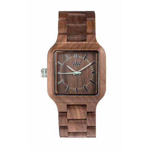 WeWood Watch Mira Nut Front