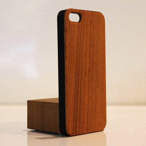 iPhone 5 Wood Phone Cover Walnut