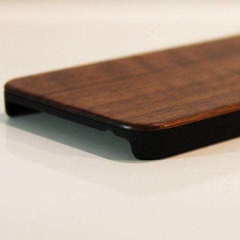 Wood iPhone 6 Cover Walnut back