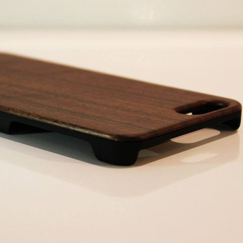 Wood iPhone 6 Cover Walnut front