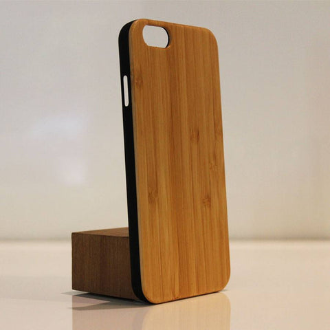 Wood iPhone 6 Cover Bamboo upright