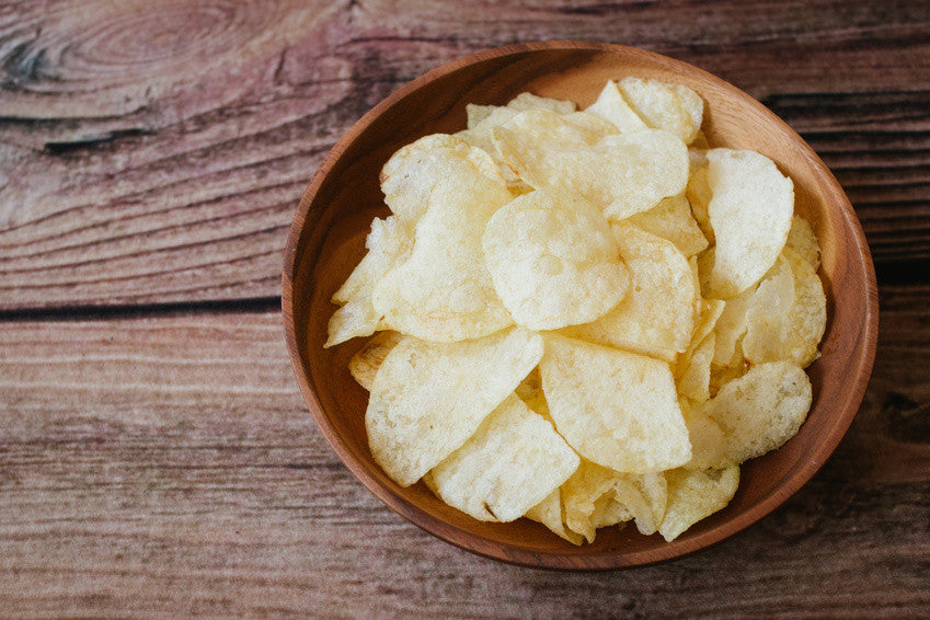 A Guide to making healthy Potato Chips in the Microwave