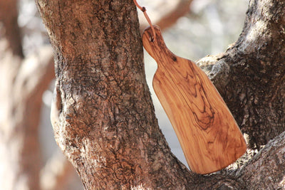 Olive Wood Chopping Board | Cheese Board - Aelia Farms