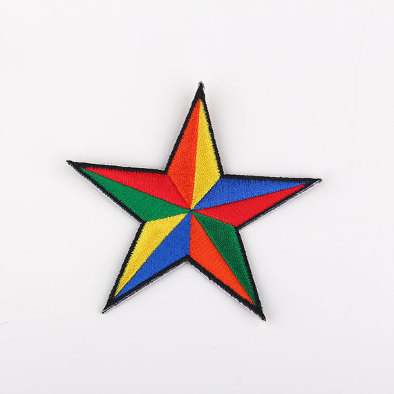 SALE, Star Applique, High Quality Iron-on Applique, Iron-on Patch, Emroidered Iron-on Applique, 1 Piece