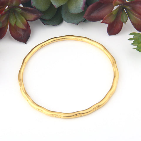 1 Gold Large Loop Connector, Bracelet, 66 mm // GC-560