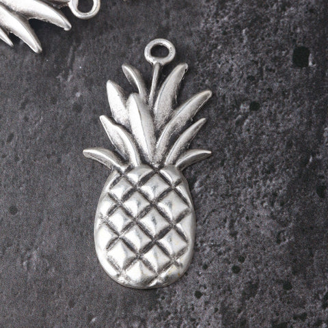 Pineapple Pendant, Fruit Pendant, Pineapple Jewelry, 1 piece // SP-435