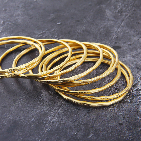 Large Gold Loop, Large Hoop Link, Large Earring Hoop, 1 piece, 63mm // GC-596
