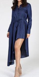 Chantel High-low Shirt Dress