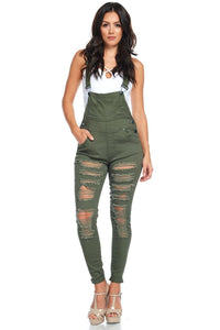 Talia Distressed Jumpsuit