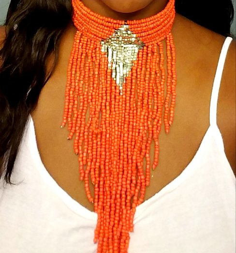 Fringe Bohemian Choker Necklace
