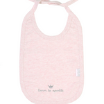 Load image into Gallery viewer, Pink Bib ''born to sparkle''