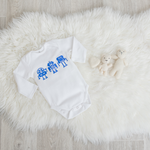 Load image into Gallery viewer, Robots Onesie - White