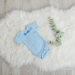 Load image into Gallery viewer, Bow Tie Onesie - Blue