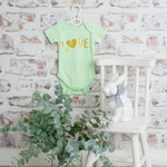 Load image into Gallery viewer, Love Onesie - Green