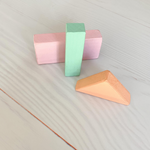 Load image into Gallery viewer, Pastel Wooden Blocks