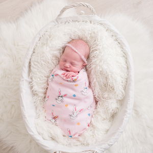 Bunny Pink Swaddle