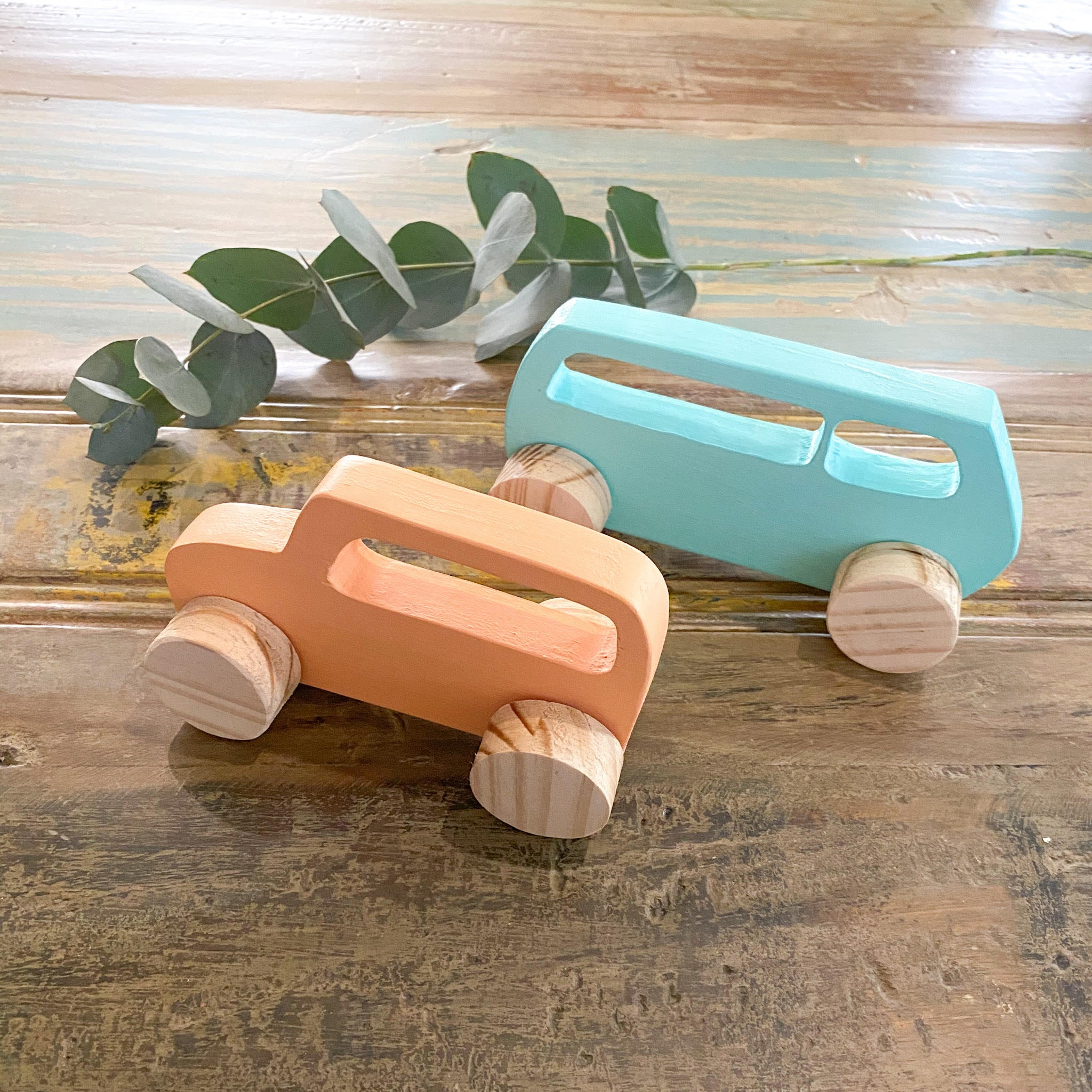 Wooden Car Set