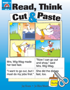 Sequencing, Read, Think, Cut & Paste - Teacher Reproducibles