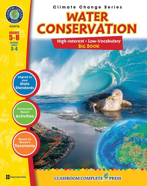 Water Conservation – Big Book (Grades 5-8) - Download Only