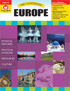 7 Continents: Europe (Grades 4-6)