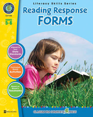 Reading Response Forms (Grades 5-6) - Download Only