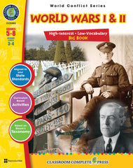 World Wars 1 & 2 Big Book (Grades 5-8) - Download Only