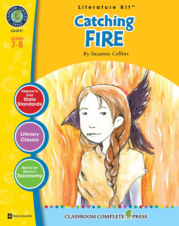 Catching Fire Literature Kit (Grades 7-8) - Download Only