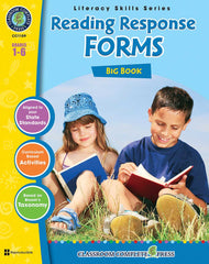 Reading Response Forms Big Book (Grades 1-6) - Download Only