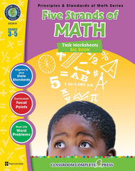 Five Strands of Math - Tasks Big Book (Grade 3-5) - Download Only