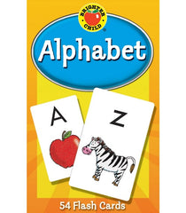 Alphabet, 54 Card Set Flash Cards (Grade PK-1)