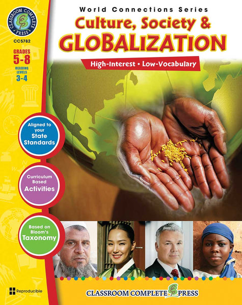 Culture, Society & Globalization (Grades 5-8) - Download Only