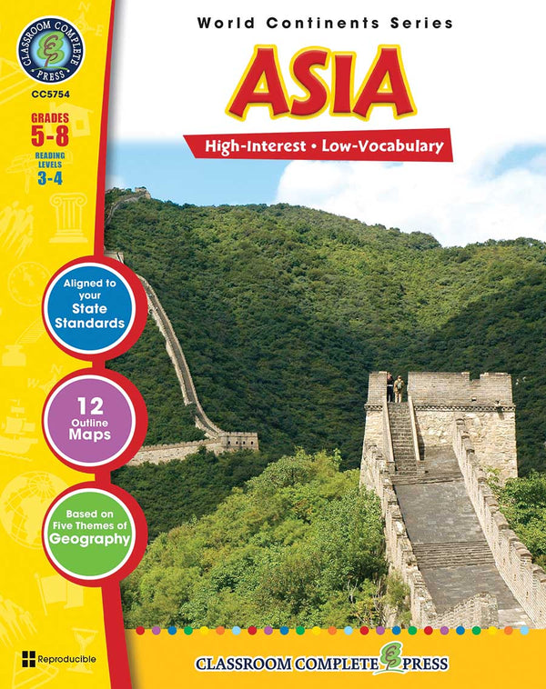 Asia (Grades 5-8) - Download Only