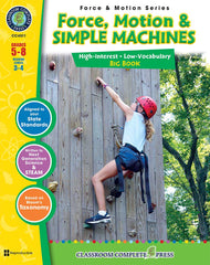Force, Motion & Simple Machines - Big Book (Grades 5-8) - Download Only